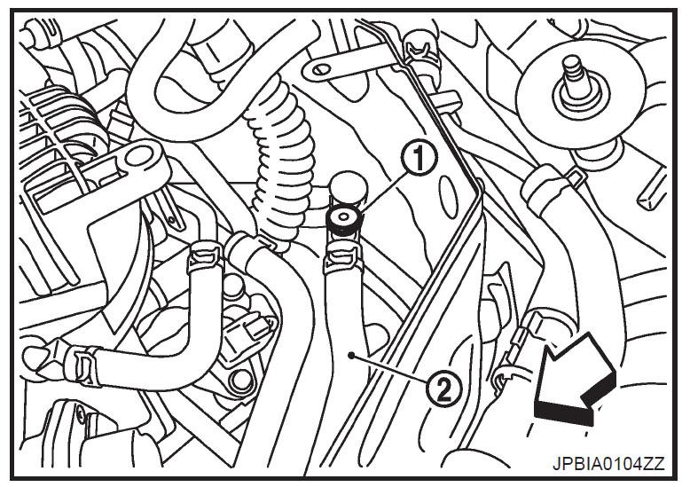 Nissan quest coolant bleeder screw