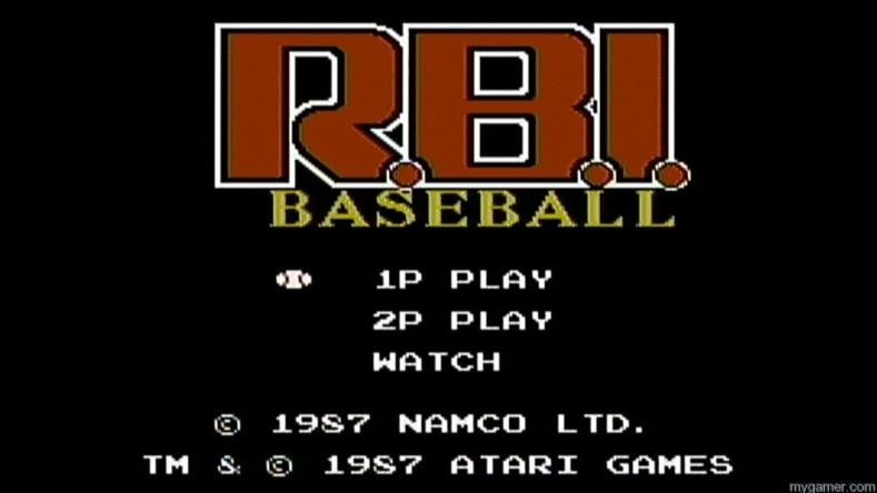 RBI Baseball NES logo