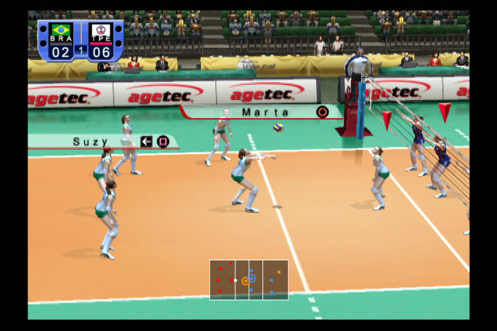 Agetec Releases Woman's V-ball on PS2 Agetec Releases Woman's V-ball on PS2 3028SquallSnake7