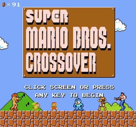 Super Mario Crossover Super Mario Crossover 3715SquallSnake7