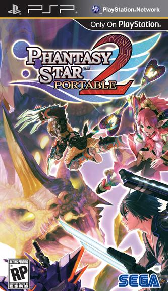 Phantasy Star Portable 2 PSP Headed Stateside Phantasy Star Portable 2 PSP Headed Stateside 3730SquallSnake7
