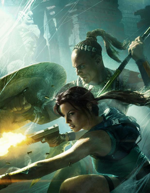 Lara Croft Launches Through Summer of Arcade Program Lara Croft Launches Through Summer of Arcade Program 3768SquallSnake7