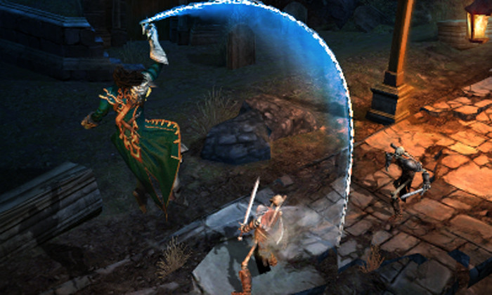 New Castlevania Mirror of Fate (3DS) Screens New Castlevania Mirror of Fate (3DS) Screens Battle cross rising strike