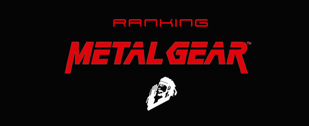 Ranking Metal Gear Banner