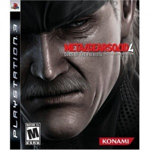 Now with Trophies Ranking Metal Gear Ranking Metal Gear mgs4box 300x300