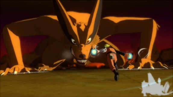 You will fight this guy. He has nine tails so he is named Nine Tails.
