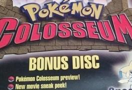 Forgotten Relics: Pokemon Colosseum Bonus Disc (GC) FORGOTTEN RELICS – Pokemon Colosseum Bonus Disc (GC) Pokemon Col Bonus Disc Banner