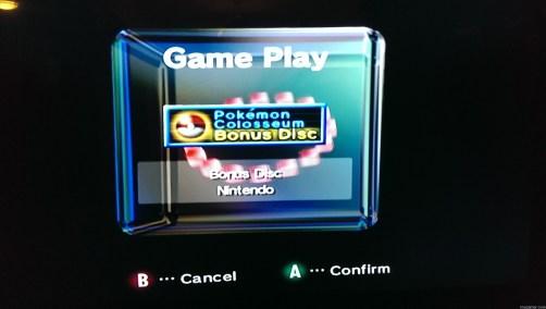 GC Main Menu Forgotten Relics: Pokemon Colosseum Bonus Disc (GC) FORGOTTEN RELICS – Pokemon Colosseum Bonus Disc (GC) Pokemon Colosseum Play 1024x579
