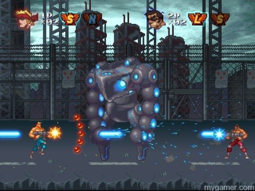 Get to da choppa! Contra Rebirth - Review (WiiWare) Contra Rebirth – Review (WiiWare) Contra Rebirth Robot