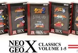 NeoGeo X Gets Mega Pack Vol. 1 NeoGeo X Gets Mega Pack Vol. 1 NeoGeoX