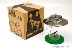 Alien Abduction Lamp Box