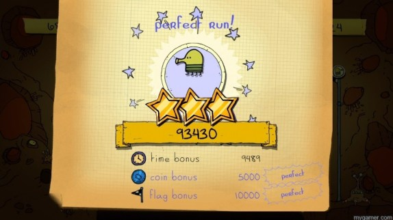 Earning 3 Stars will not happen often Doodle Jump for Kinect (XBLA) Review Doodle Jump for Kinect (XBLA) Review Doodle Jump Stars 1024x576