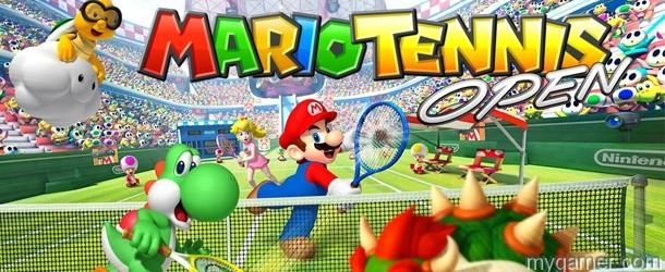Mario Tennis Open banner