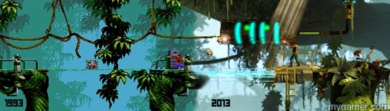 Compare the original vs modern Flashback Now Available on XBLA, soon on PSN and PC Flashback Now Available on XBLA, soon on PSN and PC 20130717 Flashback Screenshot 06