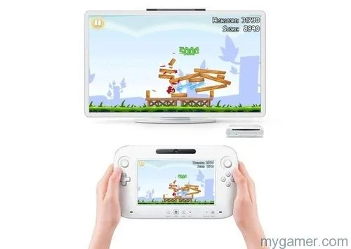 Angry Birds Now on your Wii U