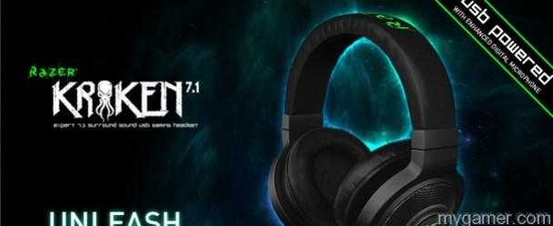 New 7.1 Surround Sound PC Headset by Razer New 7.1 Surround Sound PC Headset by Razer Razer Kraken