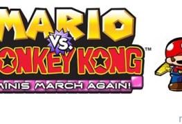 Mario vs Donkey Kong: Minis March Again! (DSiWare) Review Mario vs Donkey Kong: Minis March Again! (DSiWare) Review Mario Vs DK MMA Banner