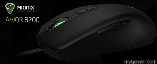 Mionix Avior 8200 Mouse Banner