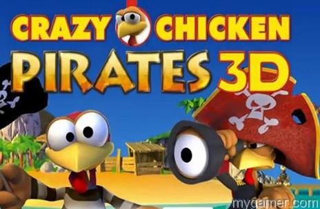 Crazy Chicken Pirates 3D banner