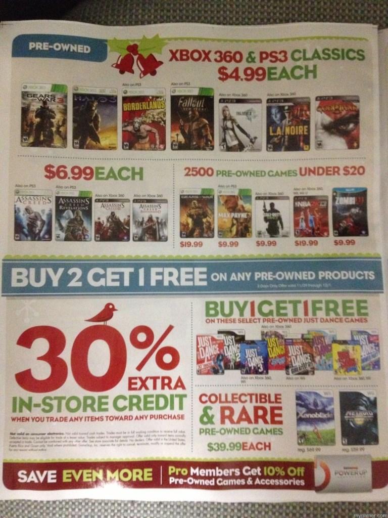 Page3 Gamestop 2013 Black Friday Ad Leaked! Gamestop 2013 Black Friday Ad Leaked! Gamestop Black Friday 2013 3 768x1024