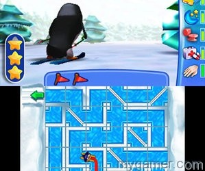 Skiing gets mixed with Pipe Dream 101 Penguin Pets 3D eShop Review 101 Penguin Pets 3D eShop Review 101 Penguin Pets 3D 2