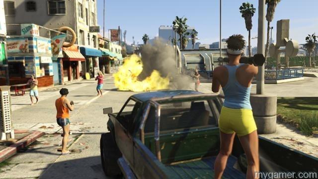 Grand Theft Auto V Beach Bum 2