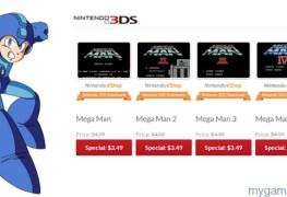 Mega Man eShop Sale