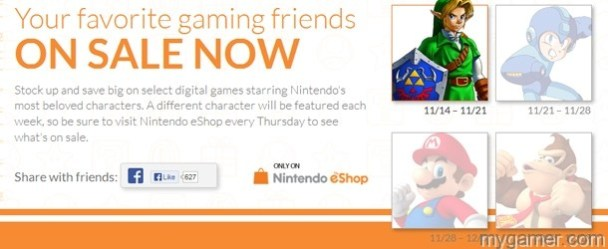 Nintendo Hints and Future eShop Sales - MegaMan, DK, Mario Nintendo Hints and Future eShop Sales – MegaMan, DK, Mario Nintendo eShop Sale banner