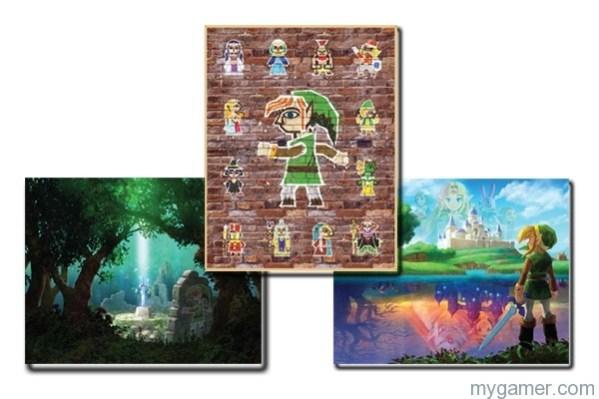 Club Nintendo Offering Link Between Worlds Posters Club Nintendo Offering Link Between Worlds Posters zelda albw posters big 1