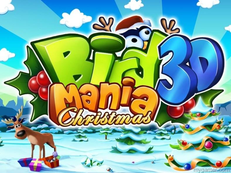 Bird Mania Returns to the 3DS eShop for Christmas Bird Mania Returns to the 3DS eShop for Christmas BirdManiaChristmas3D Art