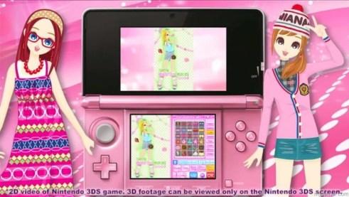 Pink! Pink everywhere! Girls' Fashion Shoot 3DS Review Girls' Fashion Shoot 3DS Review Girls Fashion Shoot Trailer 050613 USconv 1024x576