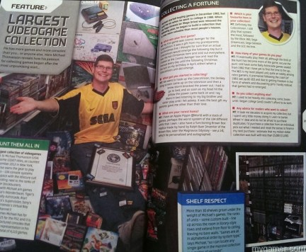 The largest collection of games evar! guinness world record 2014: gamer's edition review Guinness World Record 2014: Gamer's Edition Review Guinness Gamer 2013 Collection