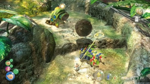 The Wii Remote and Nunchuk work the best Pikmin 3 Wii U Review Pikmin 3 Wii U Review Pikmin 3 Control 1024x576