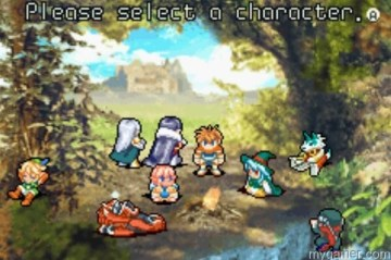 Look at all the playable characters!