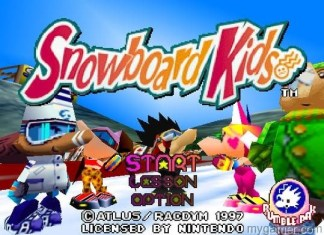 Snowboard Kids! My Top 5 Favorite Altus Games My Top 5 Favorite Altus Games Snowboard Kids Title