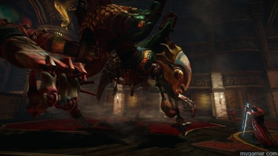 Bosses, like the Toy Maker, are epic and creepy Castlevania: Lords of Shadow 2 Review Castlevania: Lords of Shadow 2 Review Castlevania LoS2 ToyMaker