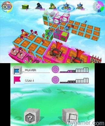 Battles can be chaotic. Cube Tactics 3DS eShop Review Cube Tactics 3DS eShop Review Cube Tactics Battle