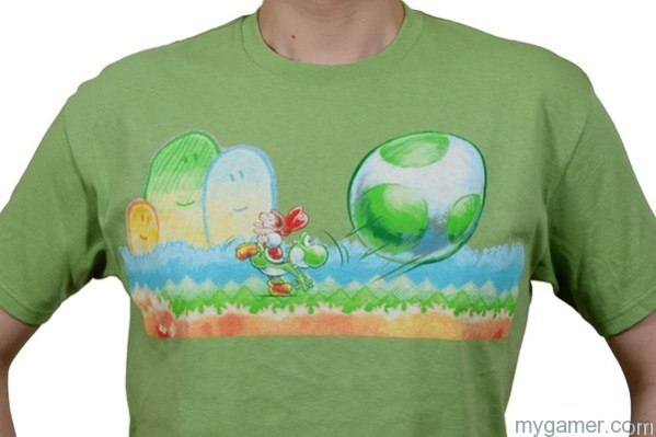 Club Nintendo Offering Yoshi's New Island T-shirt Club Nintendo Offering Yoshi's New Island T-shirt yoshi tshirt big 3