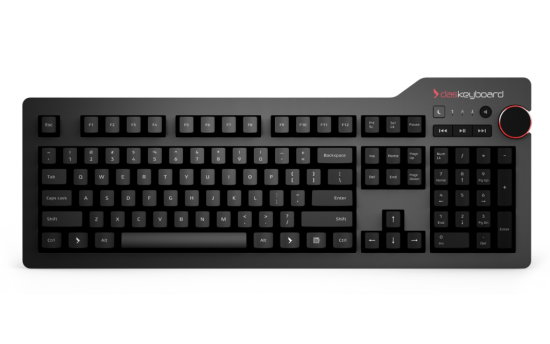 This keyboard sings Das Keyboard 4 Professional Review Das Keyboard 4 Professional Review daskeyboard 4 professional front view 1024x639