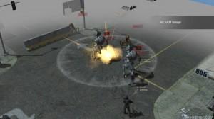 Turn-based combat in Falling Skies game