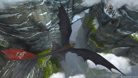The entire game takes place in the sky How To Train Your Dragon 2 (360) Review How To Train Your Dragon 2 (360) Review How to Train your Dragon 2