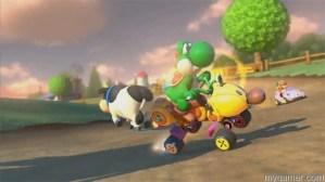 Mario Kart 8 cows