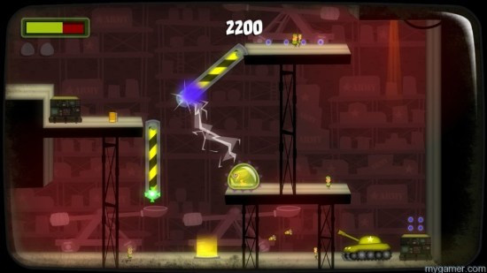 Showing off Magneto powers Tales from Space: Mutant Blobs Attack XBLA Review Tales from Space: Mutant Blobs Attack XBLA Review Mutant Blobs magnet