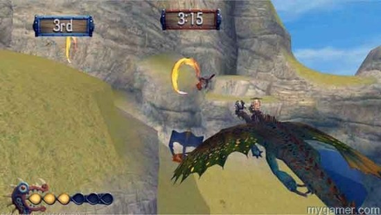 Flying through these weird fire rings is pretty much the entire game How To Train Your Dragon 2 (360) Review How To Train Your Dragon 2 (360) Review how train your dragon