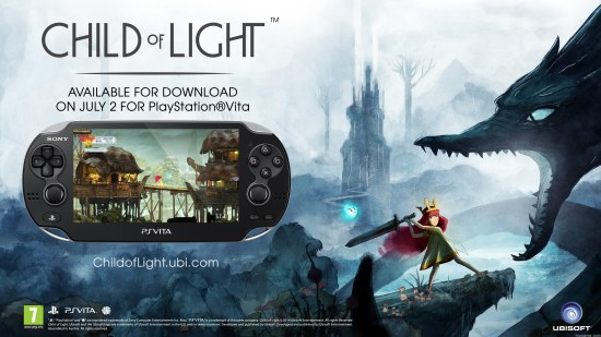 Child of Light vita Child of Light Now on Vita Child of Light Now on Vita Child of Light vita 1024x576