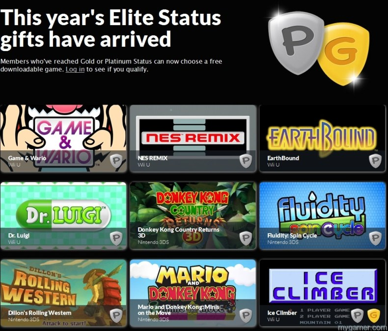 Club Nintendo 2014 PlatGold Gift