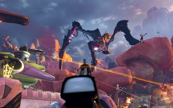 First-Person mode in FireFall FireFall (PC) Review FireFall (PC) Review First Person mode in FireFall 1024x640