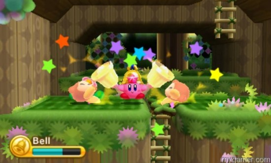 Bell Kirby is just one of many Kirby types Kirby Triple Deluxe 3DS Review Kirby Triple Deluxe 3DS Review Kirby Triple Deluxe bell