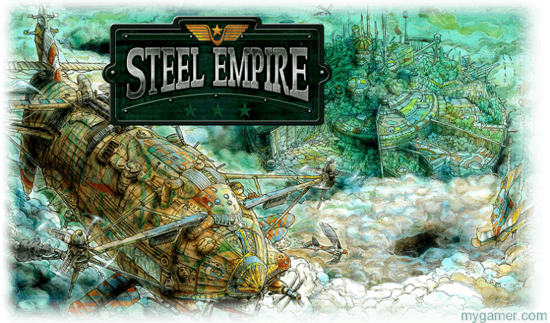 Steel Empire 3DS eShop Review Steel Empire 3DS eShop Review SteelEmpire background