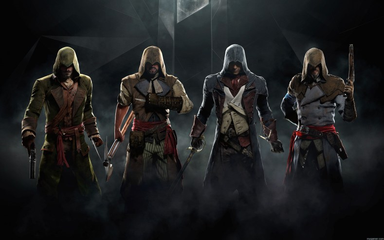 New Assassin's Creed Unity Co-Op Trailer New Assassin's Creed Unity Co-Op Trailer assassins creed unity game wide
